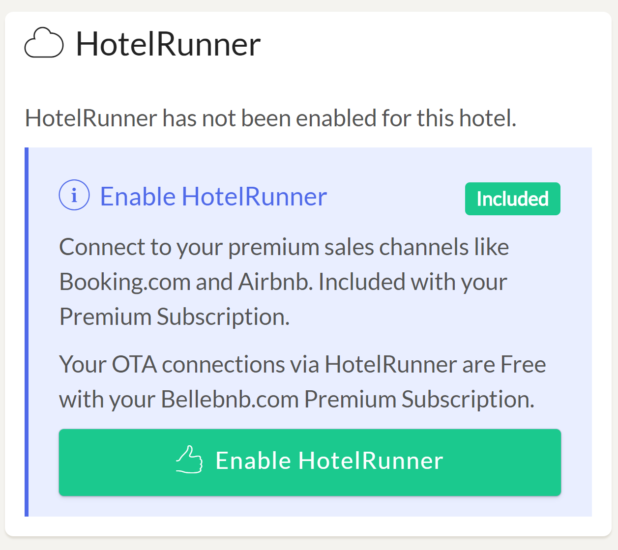 Enable MyHotelCRS.com