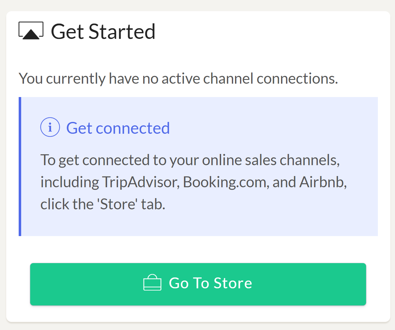 Connect to MyHotelCRS.com                  Setting up your channel connections with MyHotelCRS.com OTA Channel Manager OTA Connections
